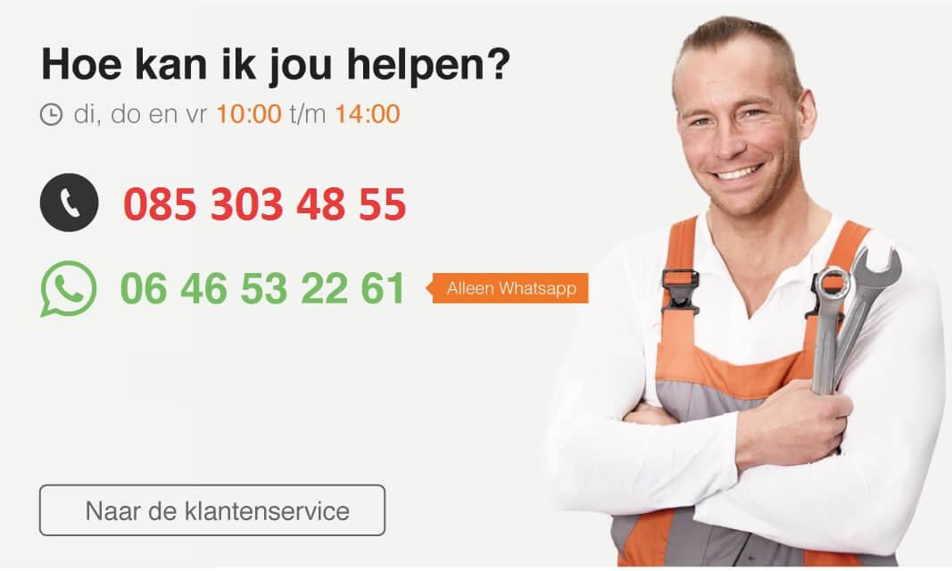 ervaring klantenservice Speedparts.nl