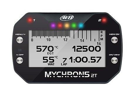 Aim Mychron 5S 2T laptimer (2x Temperatuur)