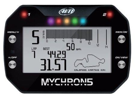 (SALE)Aim Mychron 5S laptimer (1x Temperatuur)