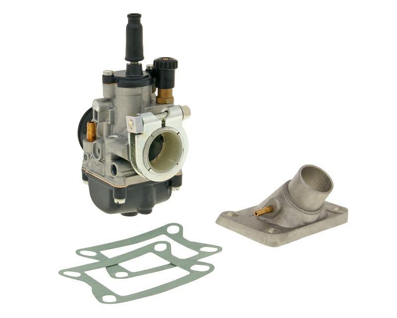 Carburateur kit Malossi PHBG 21 AS met KlemmFlens 24mm voor Honda MB, MT, MTX