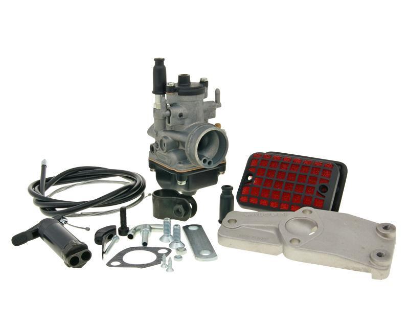 Carburateur kit Malossi PHBG 19 B voor Piaggio, Vespa Brommers