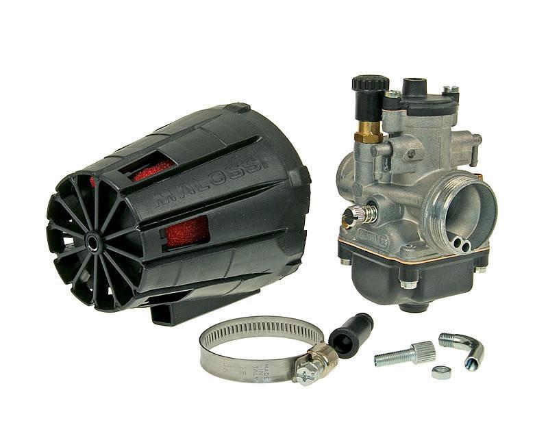 Carburateur kit Malossi MHR PHBG 19 BS voor Piaggio, Minarelli