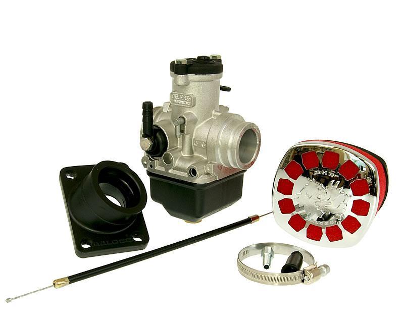 Carburateur kit Malossi MHR PHBH 26 BS voor Minarelli AM, Derbi, Generic, KSR-Moto, Keeway, Motobi, Ride, CPI, 1E40MA, 1E40MB