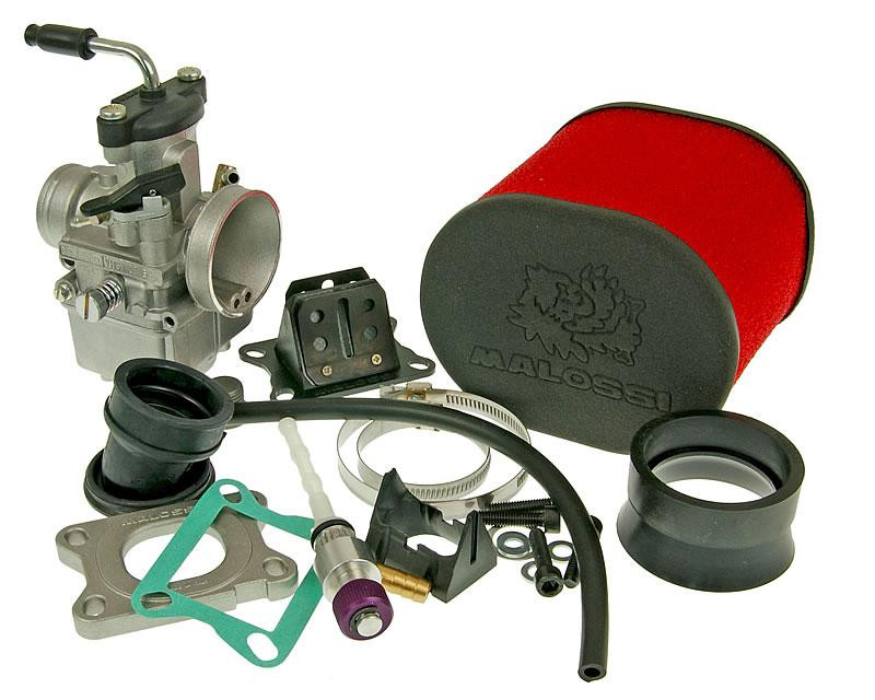 Carburateur kit Malossi MHR Team VHST 28 voor AM6, Derbi, Generic, KSR-Moto, Keeway, Motobi, Ride, CPI, 1E40MA, 1E40MB