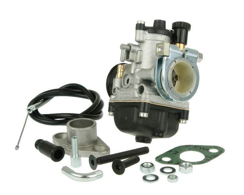 Carburateur kit Malossi PHBG 19 AS met KlemmFlens 24mm voor SYM Jet EuroX
