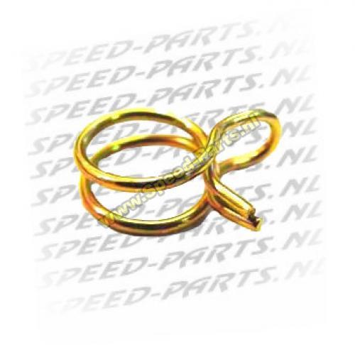 Leiding knijp klem / Benzinslang klem - 7.3 mm