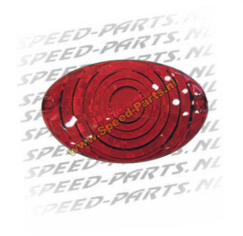 Achterlichtglas RS50 1999-2005 rood