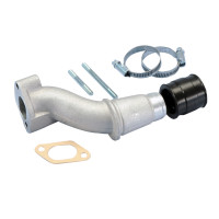 Spruitstuk Polini 24/28,5mm voor Vespa 50 Special, 125 Primavera, ET3 Smallframe met CP Carburateur