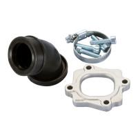 Spruitstuk Polini 360 28/33mm voor Minarelli horizontaal met 26-28mm Mikuni VM Carburateur