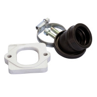 Spruitstuk Polini 360 24/28,5mm voor Piaggio met 19mm CP Evolution, 19mm PHBG Evolution Carburateur