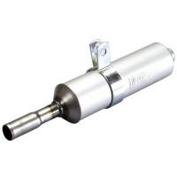 Einddemper Polini Aluminium met 18mm Aansluiting