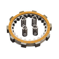 Koppelingsplaten Set HF Polini voor Minarelli AM, Generic, KSR-Moto, Keeway, Motobi, Ride, 1E40MA, 1E40MB