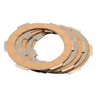 Koppelingsplaten Set Polini Kork voor Vespa PK 50, 125 FL, XL, Piaggio APE 50 TL5, TL6