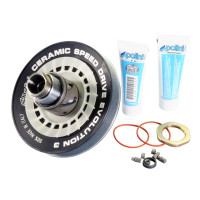 Poulies Kit Polini Ceramic Speed Drive Evolution 3, 134mm voor Piaggio 1998-
