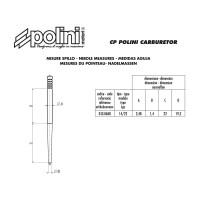 Gasnaald Polini 14/22 voor CP Carburateur