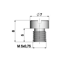 Carburateur Hoofdsproeier Polini 5mm voor Dellorto Carburateur - 85