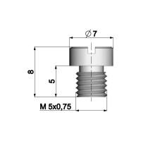 Carburateur Hoofdsproeier Polini 5mm voor Dellorto Carburateur - 90