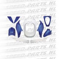 Kappenset DMP - Sym Mio - Blauw / Wit