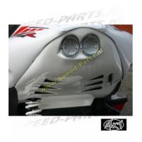 Underseat + achterlicht MTKT - Yamaha Aerox - Wit