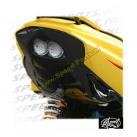 Underseat + achterlicht MTKT - Peugeot Speedfight 2 - Zwart