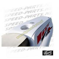 Tank / Duo cover MTKT - Yamaha Aerox - Zwart