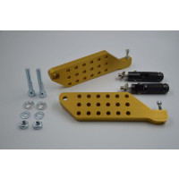 Yamaha Aerox voetstepjes, CNC