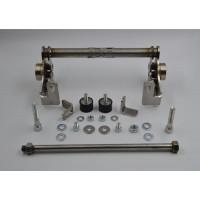 Yamaha Jog subframe (Malossi C-one carters)  carburateur naar achteren