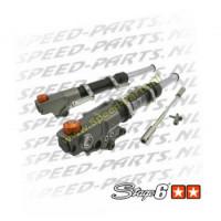 Voorvork poten Stage 6 Racing - Yamaha Aerox - Zwart / Oranje