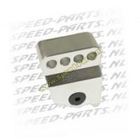 Verstelbare schokbrekerverlenger - Gilera / Piaggio - Aluminium