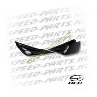 Sideskirts F1 look BCD - Yamaha Aerox - Zwart