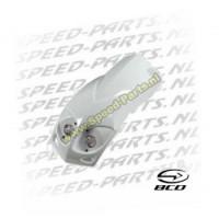 Voorscherm incl koplamp - BCD - Peugeot Ludix - Wit