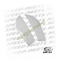 Voorscherm set - BCD - Peugeot Ludix - Wit