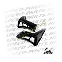 Voorscherm spoilerset - BCD - Peugeot Ludix - Zwart