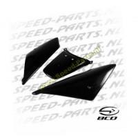 Achterschermen incl middenplaatje - BCD - Peugeot Ludix - Zwart