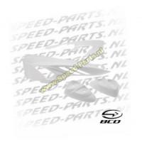 Achterbody set - BCD - Yamaha Slider - Wit