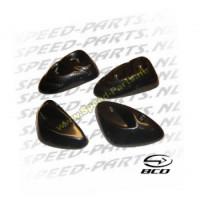 Zij protectorset - BCD - Yamaha Slider - Carbon look