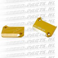 Remreservoirdeksel BCD 2-Stuks - Yamaha Aerox - Mat Goud