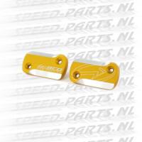 Remreservoirdeksel BCD 2-Stuks - Peugeot Speedfight / Jetforce - Mat Goud