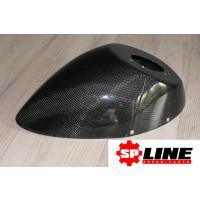 SP-line - Carbon voor Spatbord Piaggio Zip 2000 + SP98 (ongelakt)