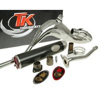 Uitlaat Turbo Kit Bufanda Carreras 80 voor Rieju RR-05, Spike -05
