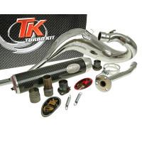 Uitlaat Turbo Kit Bufanda Carreras 80 voor Derbi Senda (00-), Aprilia RX/SX, Gilera RCR/SMT, Zulu