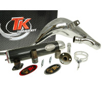 Uitlaat Turbo Kit Bufanda Carreras 80 voor Rieju MRX, RRX, SMX, Spike