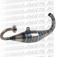 Jollymoto - Uitlaat 70cc Evolution - Aluminium Demper - Piaggio