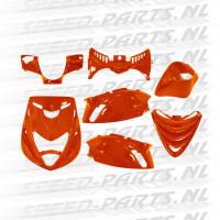 Kappenset DMP - Oranje/Amber - Piaggio Zip 2000 sp look