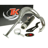 Uitlaat Turbo Kit Bajo RQ Chroom voor Suzuki Street Magic