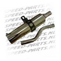 Demper - Chroom - Honda MT / MTX
