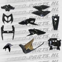 RPS - Beplatingsset - 12 delig - Zwart - Yamaha Aerox / Nitro