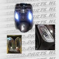 Knipperlicht - LED - Voor L+R - Vespa LX,S,LXV