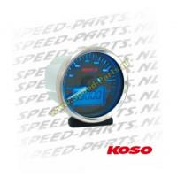 Teller Koso - Snelheid / Kilometerteller
