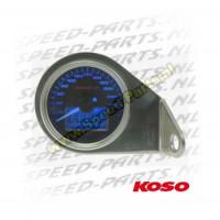 Teller Koso - Snelheid / Kilometerteller - tot 260 km/u